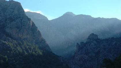 Gipfel um den Barranc de Biniaraix.