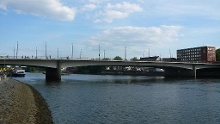 Auf dem Brückenradweg von Osnabrück nach Bremen (West)