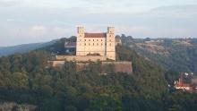 Round trip to Rebdorf monastery and Willibaldsburg castle in Eichstätt