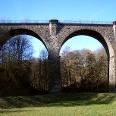 Das Viadukt im Elbschetal bei Wengern.