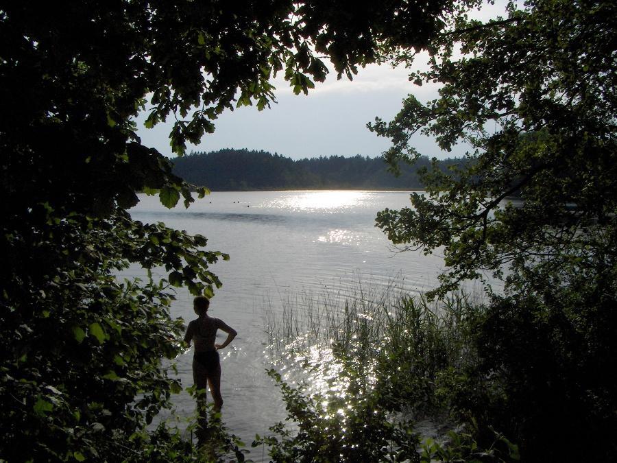 Ein schöner Badeplatz am Hartsee. -©Autor: Alpstein, Quelle: Alpstein