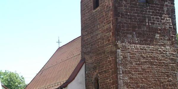 Kirche in Winterbach.