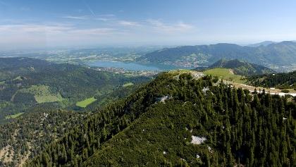 Hirschberg aus der Luft