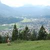Aussicht über Garmisch.