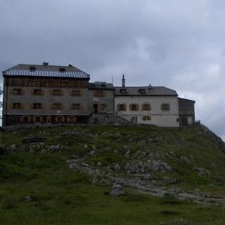 Das Watzmannhaus.