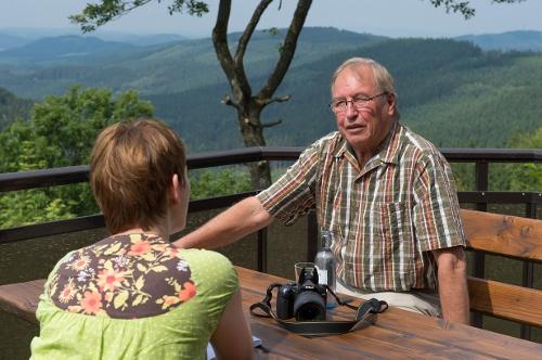 Rothaarsteig-Spur Oberhundemer Bergtour
