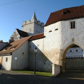 Das Marientor in Naumburg.