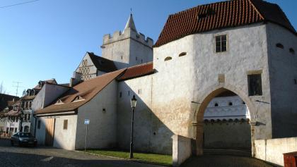 Das Marientor in Naumburg.