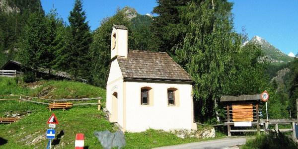 Start an der Wolfgang Kapelle
