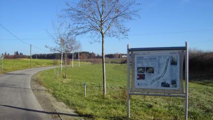 Gehölzlehrpfad bei Heiligenbrunn