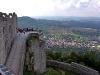 Aussicht von der Burg Neuffen.