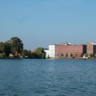 Die Mühle am Müllroser See.