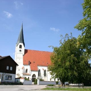 Kirche in Johanniskirchen.