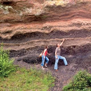 Uns erwarten beeindruckende Felsformationen.