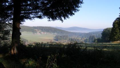 Vom Weg nach Ceske Zleby bieten sich wunderschöne Ausblicke.