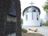 Autobahnkapelle direkt oben an der Kochertalbrücke   - © Quelle: Antje Kunz