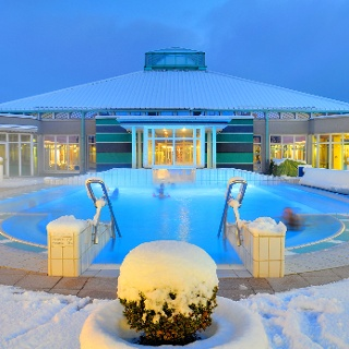 Driburger Therme im Winter