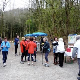 Eröffnung Nordic Walking Park