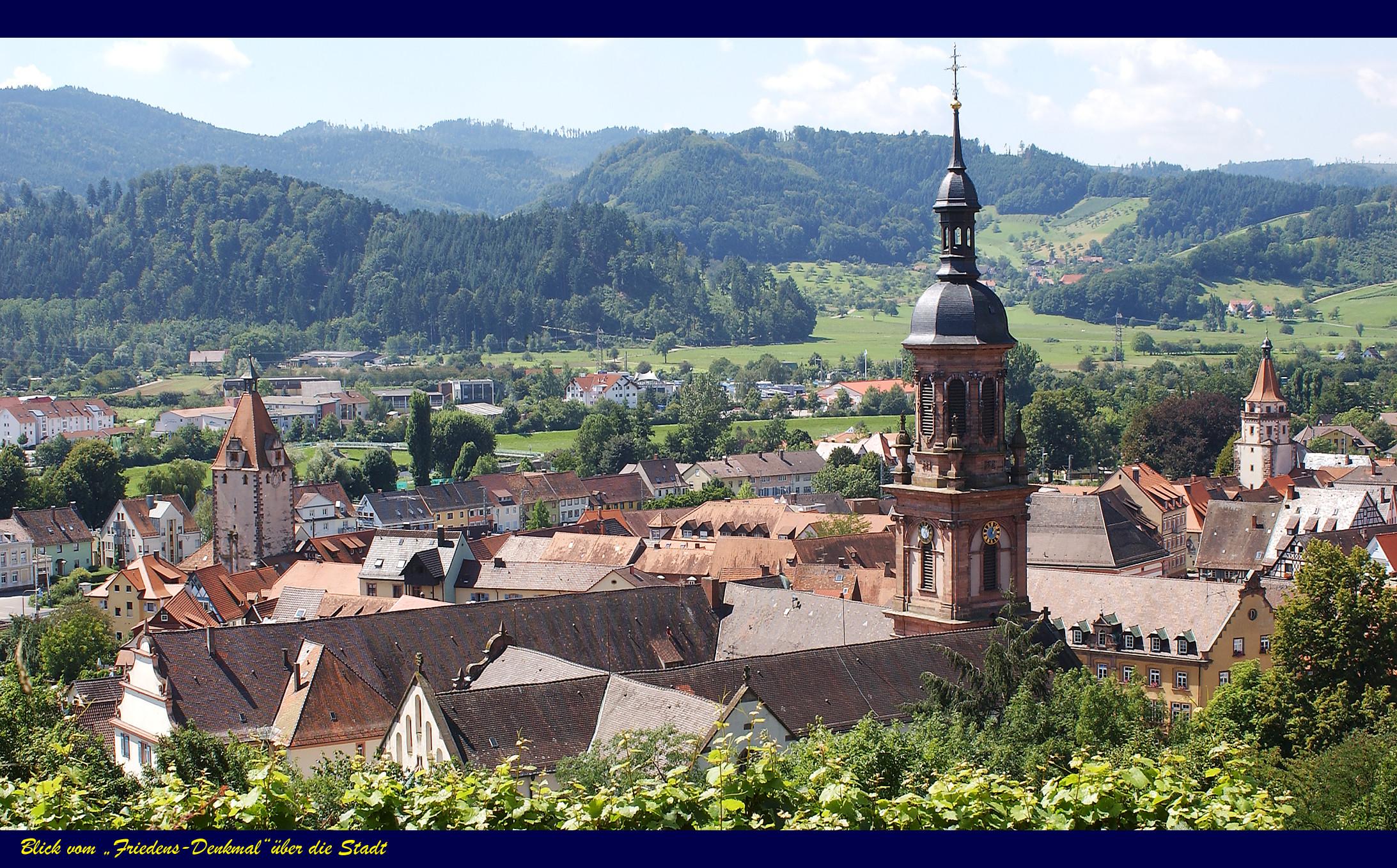 Blick über Gengenbach