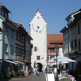 Marktplatz mit Blick zum Untertorturm