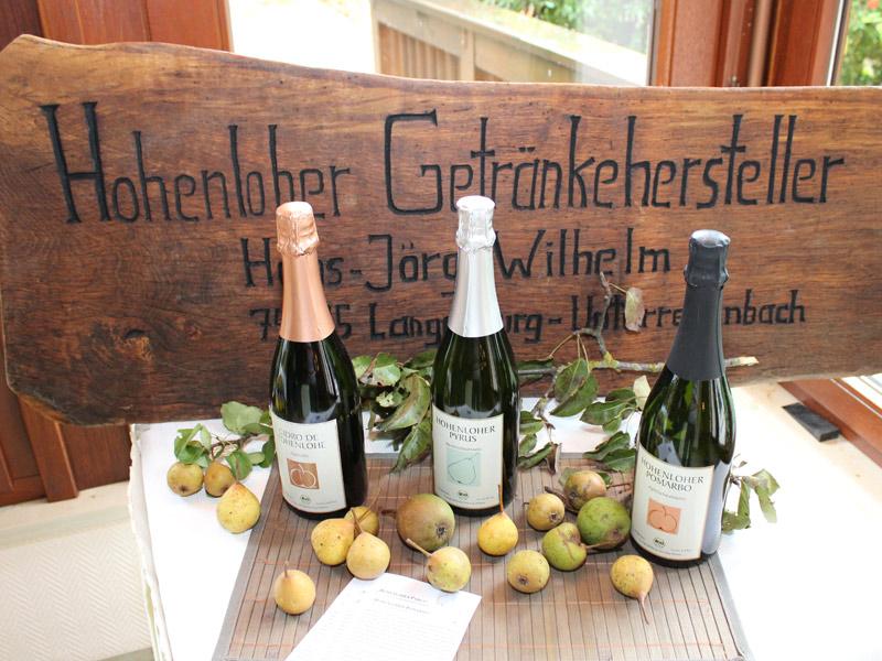 Zu jedem Gang ein Genuss: Hohenloher Schaumweine   - © Quelle: Hohenlohe + Schwäbisch Hall Tourismus e.V.