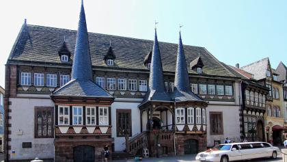 Blick auf das Alte Rathaus in Einbeck