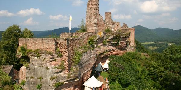 Burgengruppe Altdahn