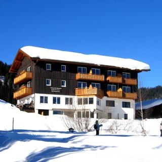 Der Alpengasthof Hörnlepass.