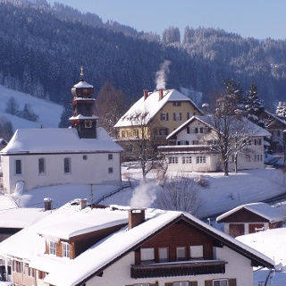 Winter in Gunzesried