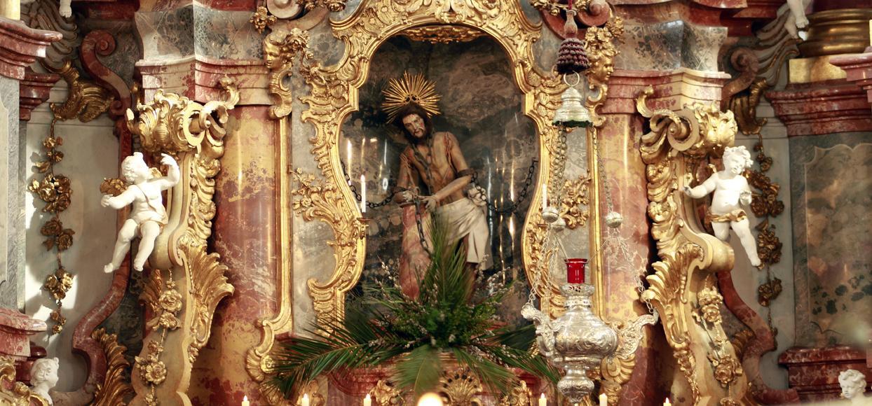 Der Hochalter in der Wieskirche (Andreas Klausmann)