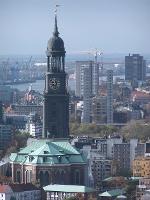 Foto Die Hauptkirche St. Michaelis in Hamburg