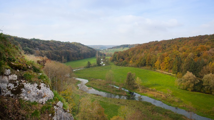Aussicht von der Ruine Falkenstein