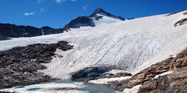 Eissee am Lobbiagletscher 2715m