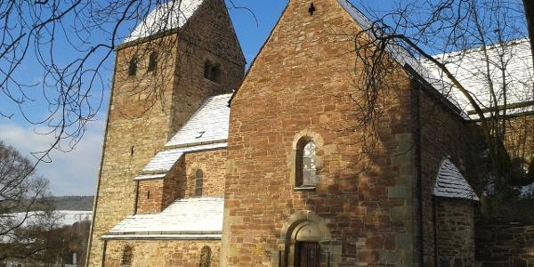 Kilianskirche im Winter