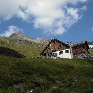 Das Furtschaglhaus vom Zustiegsweg