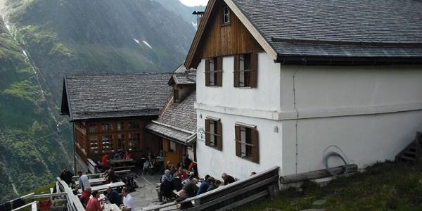 Terrasse am Furtschaglhaus