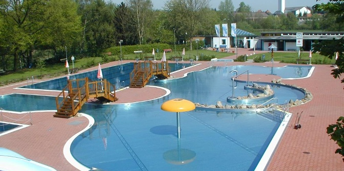 Freibad begabad bad salzuflen