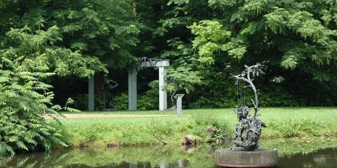 Klostergarten rietberg skulpturenpark wilfried koch for Koch rietberg