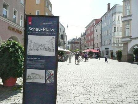 Entdeckungstour durch die Stadt Rosenheim