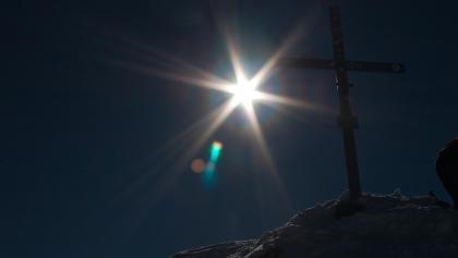 Gipfelkreuz der Cima Presena