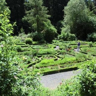Der historische Bauerngarten in Uslar