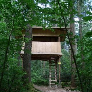 Das Baumhaus im Naturerlebnispfad Freudenstadt
