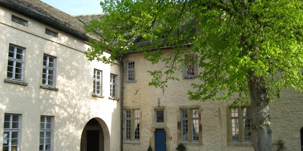 Burghof der Oberburg