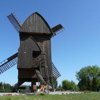Bockwindmühle in Klietz