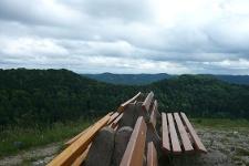 Nicht weit von Burgfelden entfernt liegt der Aussichtspunkt Böllat.