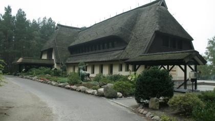 In diese Residenz am  Drewitzer See hatte sich Erich Honecker gerne zurückgezogen.