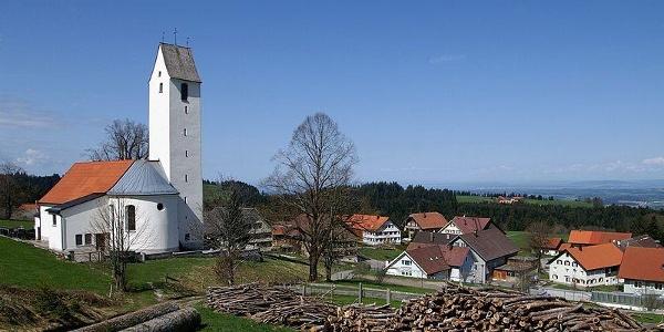 Dorfkirche in Möggers