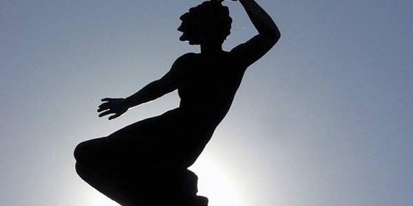Die Venus von David Fahrner auf dem Freudenstädter Marktplatz