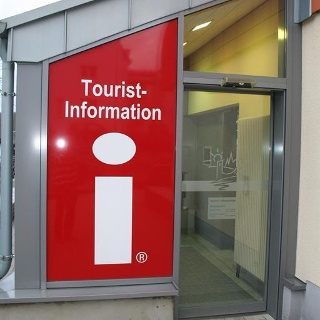 Eingang Tourist-Information