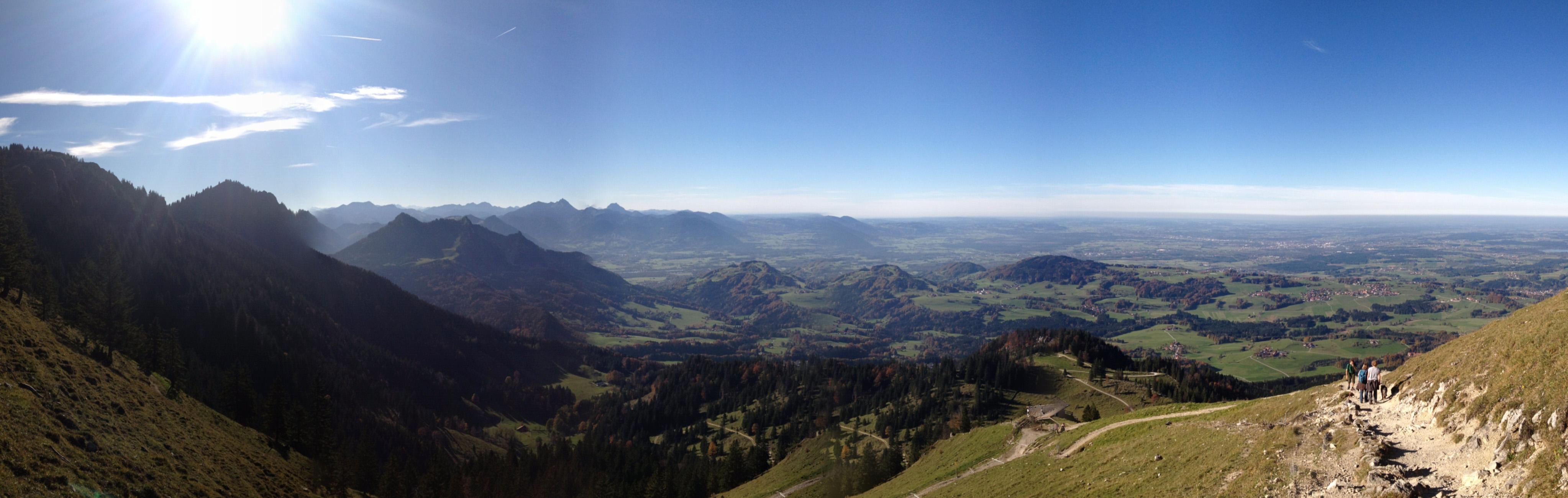 Panorama Hochries